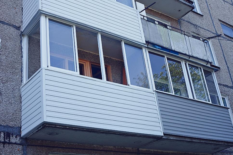 внешняя отделка балкона видео