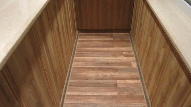 Используем ламинат на балконе или лоджии. укладка ламината н.
