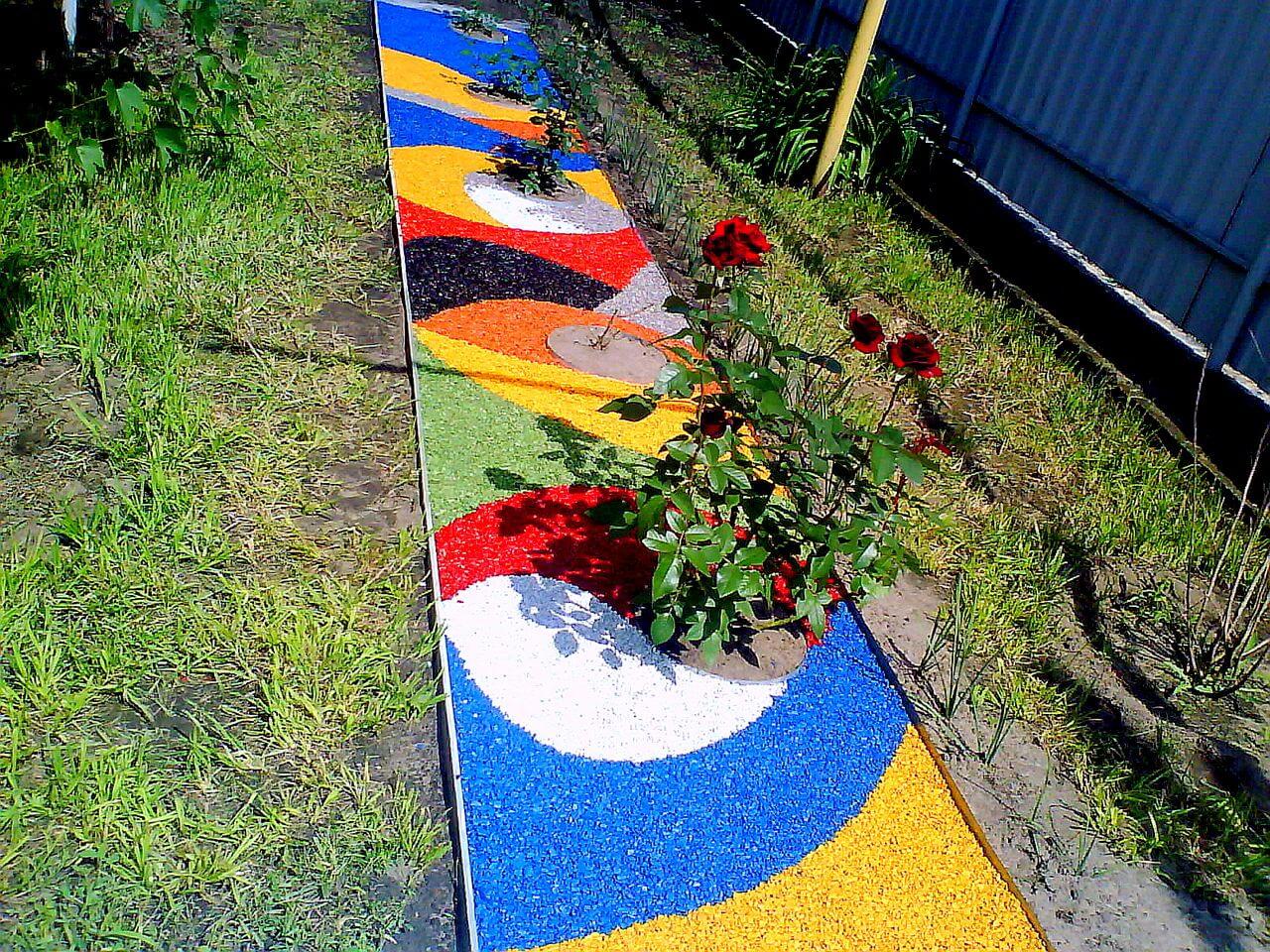 Дорожки своими руками для сада и дачи: 50 фото как сделать садовую дорожку 36