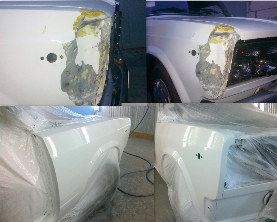 Покраска и полировка автомобиля своими руками видео