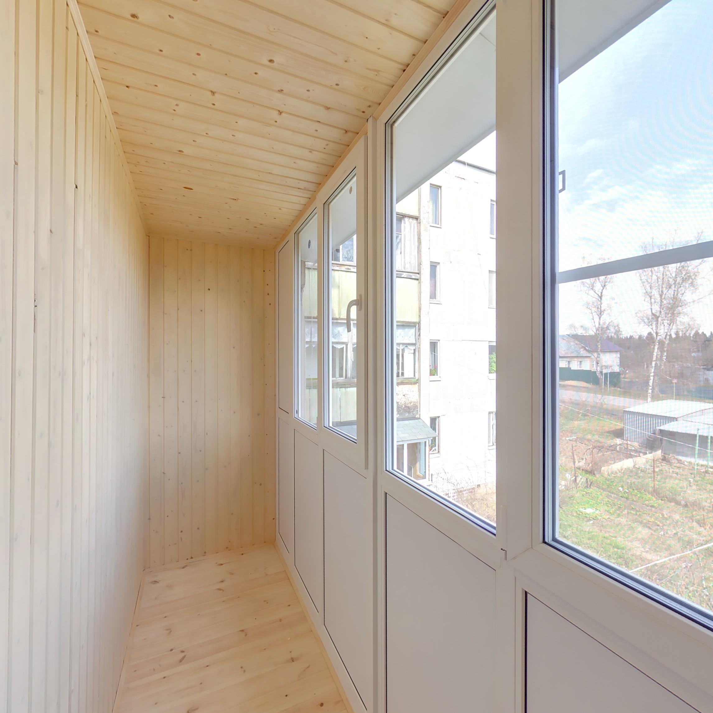Остекление балконов и лоджий недорого в москве..