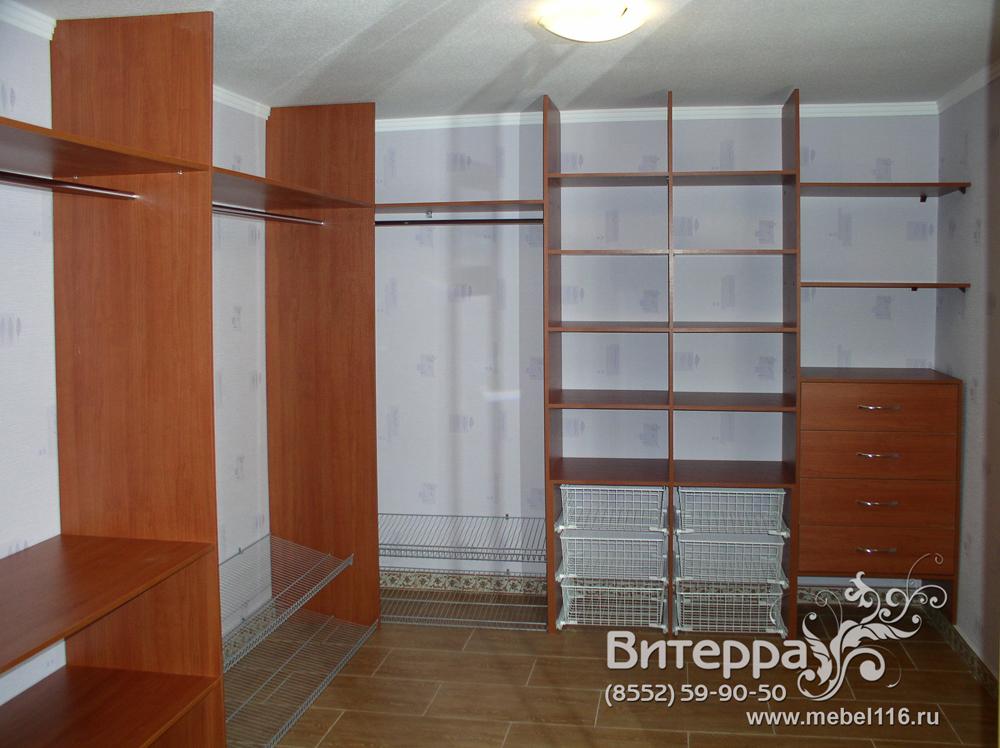 Любые гардеробные комнаты на заказ - мебель.