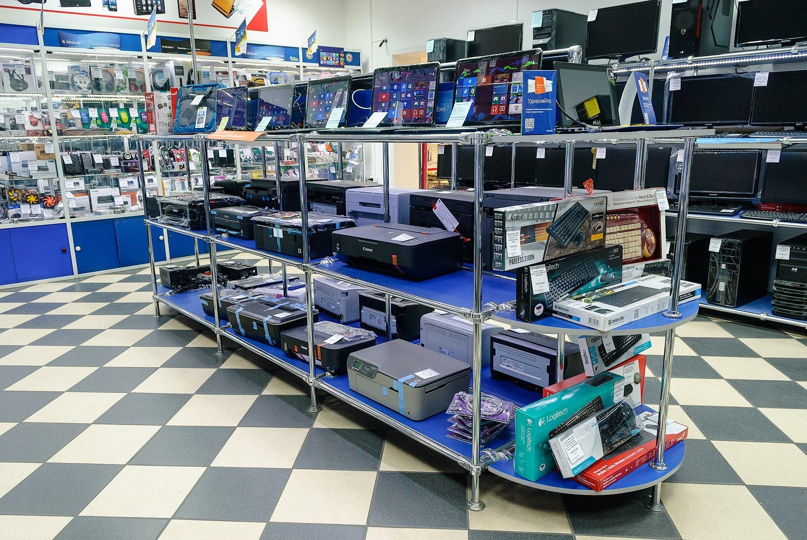 картинки для компьютерного магазина встречаются плоской округлой